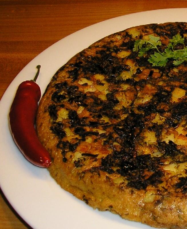Chili-Koriander-Frittata