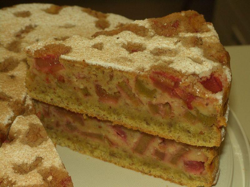 Billis Rhabarberkuchen