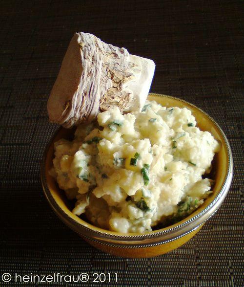 Kartoffel-Meerrettichsalat
